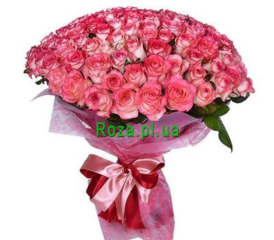 """101 roses"" in the online flower shop roza.pl.ua"