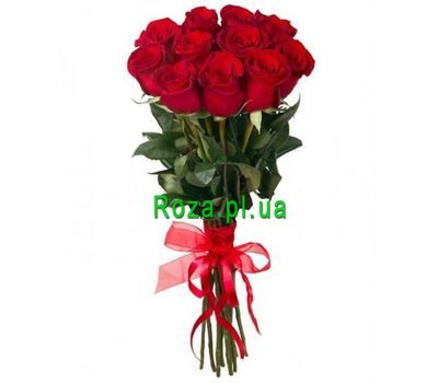 """11 red roses"" in the online flower shop roza.pl.ua"
