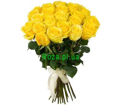 """25 yellow roses"" in the online flower shop roza.pl.ua"