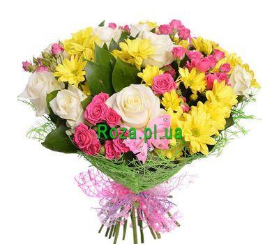 """""""Букет для любимой девочки"""" в интернет-магазине цветов roza.pl.ua"""
