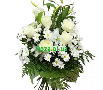 """""""Bouquet for the newlyweds"""" in the online flower shop roza.pl.ua"""