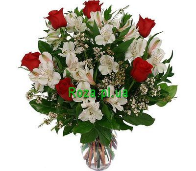 """Bouquet for mood"" in the online flower shop roza.pl.ua"
