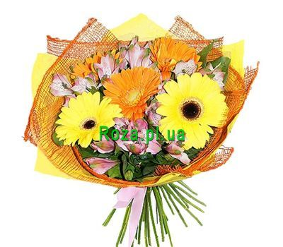 """Bouquet for school teacher"" in the online flower shop roza.pl.ua"