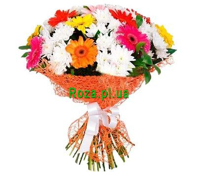 """Bouquet for the mother-in-law"" in the online flower shop roza.pl.ua"