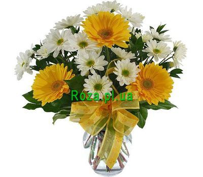 """""""Bouquet for the teacher"""" in the online flower shop roza.pl.ua"""