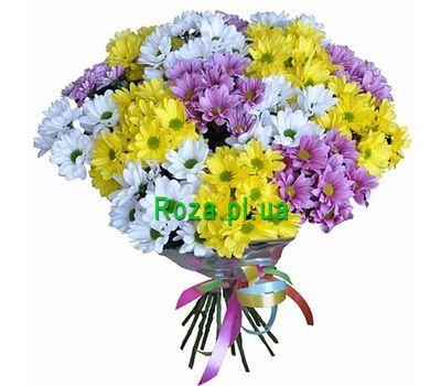 """""""Букет хризантем для подруги"""" в интернет-магазине цветов roza.pl.ua"""