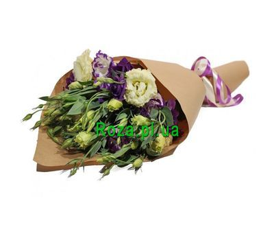 """Bouquet from eustom in paper"" in the online flower shop roza.pl.ua"