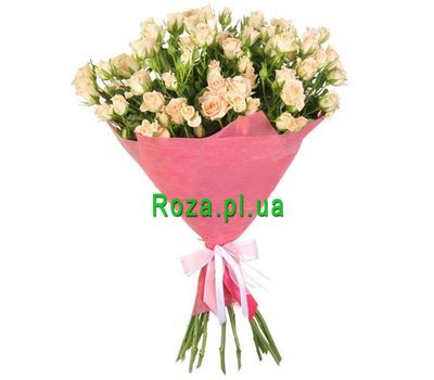 """Bouquet of bush roses"" in the online flower shop roza.pl.ua"