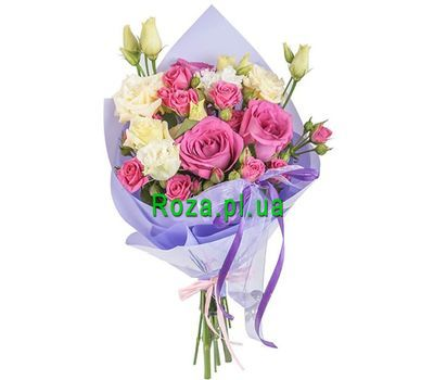 """Bouquet of delicate flowers"" in the online flower shop roza.pl.ua"
