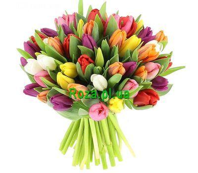 """""""Букет из 51 тюльпана"""" в интернет-магазине цветов roza.pl.ua"""