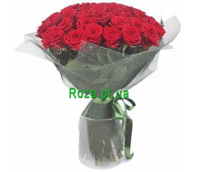 """""""Bouquet of 51 red roses"""" in the online flower shop roza.pl.ua"""