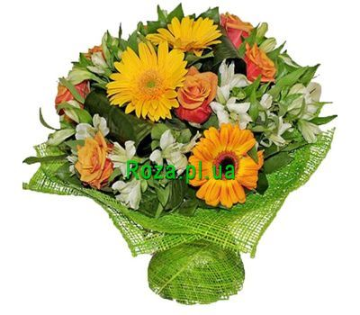 """Bouquet Kiss of the sun"" in the online flower shop roza.pl.ua"