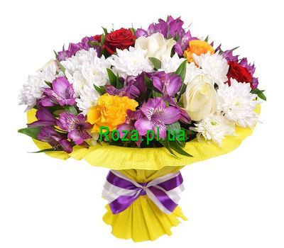 """Exclusive bouquet of flowers"" in the online flower shop roza.pl.ua"