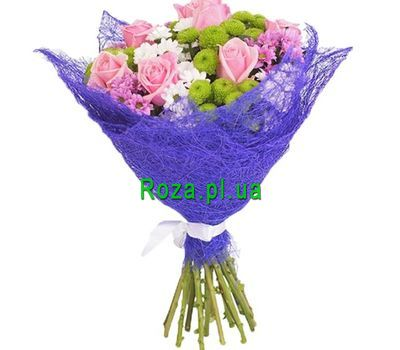 """""""Compliment to a woman"""" in the online flower shop roza.pl.ua"""