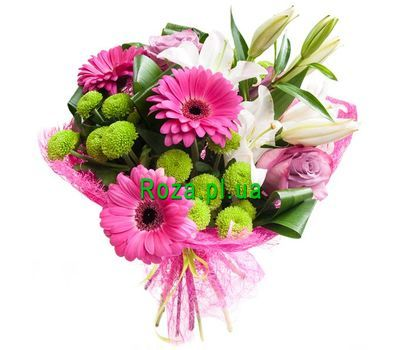 """""""Beautiful bouquet of flowers"""" in the online flower shop roza.pl.ua"""