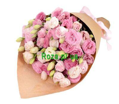 """""""Красивый букет эустом"""" в интернет-магазине цветов roza.pl.ua"""