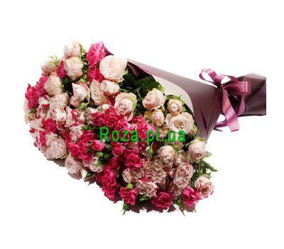 """""""Красивый букет кустовых роз"""" в интернет-магазине цветов roza.pl.ua"""