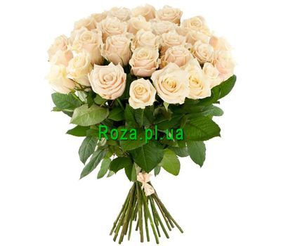 """Beautiful white roses"" in the online flower shop roza.pl.ua"
