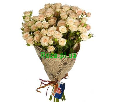 """Shrub Roses in Paper"" in the online flower shop roza.pl.ua"