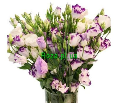 """""""Lysianthus in a bouquet"""" in the online flower shop roza.pl.ua"""