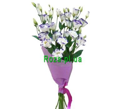 """A small bouquet of eust"" in the online flower shop roza.pl.ua"