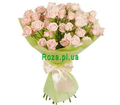 """A small bouquet of small-sized roses"" in the online flower shop roza.pl.ua"