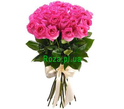 """Delicate bouquet of imported roses"" in the online flower shop roza.pl.ua"
