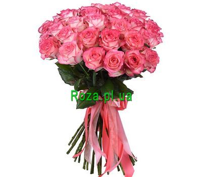 """""""Delicate bouquet of roses"""" in the online flower shop roza.pl.ua"""