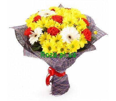 """A charming bouquet"" in the online flower shop roza.pl.ua"