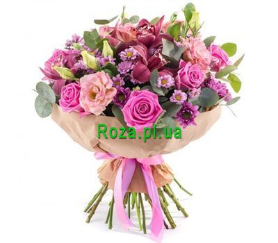 """The original bouquet"" in the online flower shop roza.pl.ua"