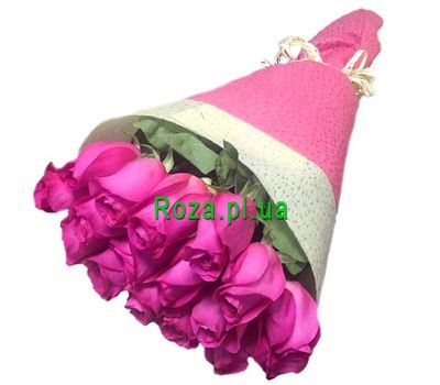 """Pink imported roses"" in the online flower shop roza.pl.ua"