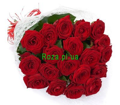 """""""A discreet bouquet of roses"""" in the online flower shop roza.pl.ua"""