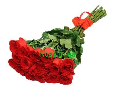 """Perfect bouquet of roses"" in the online flower shop roza.pl.ua"