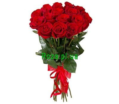 """Stylish bouquet of imported roses"" in the online flower shop roza.pl.ua"