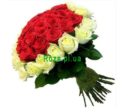 """Delightful bouquet of roses"" in the online flower shop roza.pl.ua"