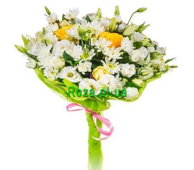 """""""An air bouquet of flowers"""" in the online flower shop roza.pl.ua"""