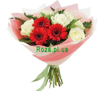 """""""Mysterious bouquet of flowers"""" in the online flower shop roza.pl.ua"""
