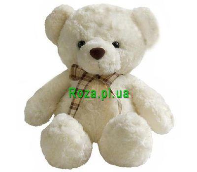 """Light Teddy Bear"" in the online flower shop roza.pl.ua"