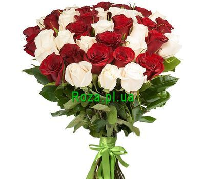 """""""Magnificent bouquet of imported roses"""" in the online flower shop roza.pl.ua"""