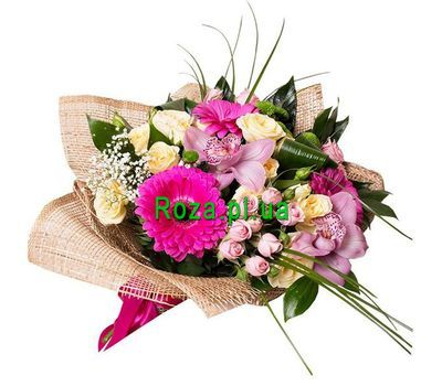"""Beautiful bouquet of flowers"" in the online flower shop roza.pl.ua"