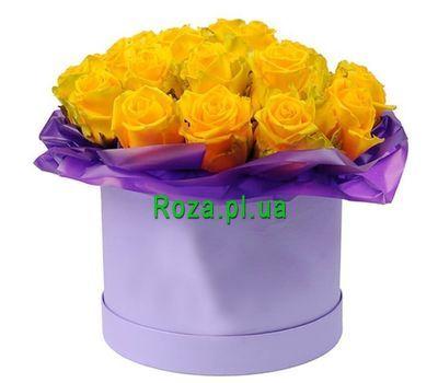 """""""Красивая коробка желтых роз"""" в интернет-магазине цветов roza.pl.ua"""