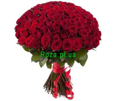 """VIP bouquet of 101 roses"" in the online flower shop roza.pl.ua"
