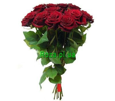 """Bouquet and 11 red roses"" in the online flower shop roza.pl.ua"