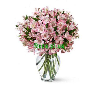 """Bouquet of 19 alstromeries"" in the online flower shop roza.pl.ua"
