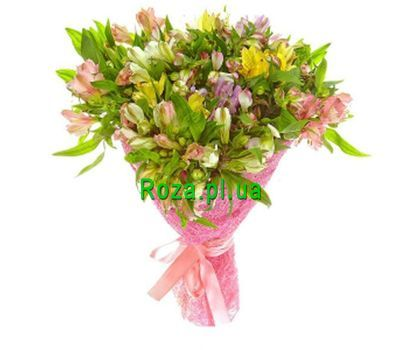 """Bouquet of 25 alstromeries"" in the online flower shop roza.pl.ua"