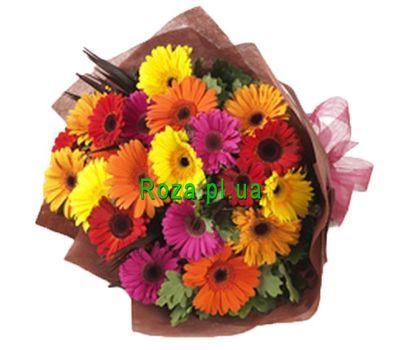 """Bouquet of 25 gerberas"" in the online flower shop roza.pl.ua"