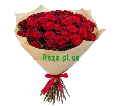 """Bouquet of 35 red roses"" in the online flower shop roza.pl.ua"