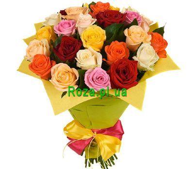 """Букет із 25 троянд"" в интернет-магазине цветов roza.pl.ua"