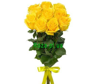 """Bouquet of 11 roses"" in the online flower shop roza.pl.ua"