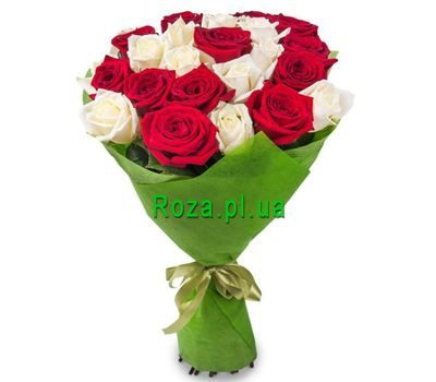 """Bouquet of 21 roses"" in the online flower shop roza.pl.ua"